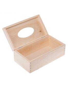 Pudełko na chusteczki prostokątne otwierane