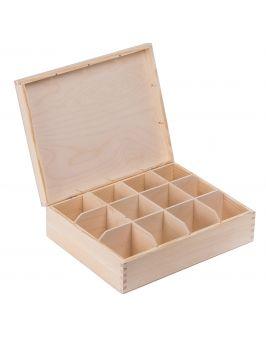 Pudełko pojemnik na herbatę herbaciarka NELA 12