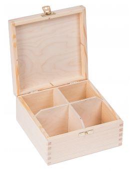 Pudełko pojemnik na herbatę herbaciarka NELA 4-Z