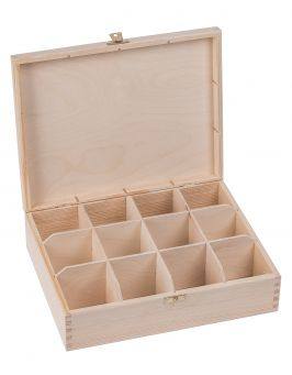 Pudełko pojemnik na herbatę herbaciarka NELA 12-Z
