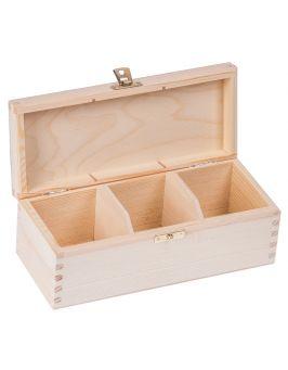 Pudełko pojemnik na herbatę herbaciarka NELA 3-Z