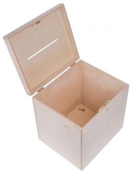 Drewniane pudełko na koperty ślubne