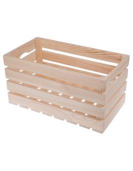 Skrzynka drewniana 50x27x25,5 cm