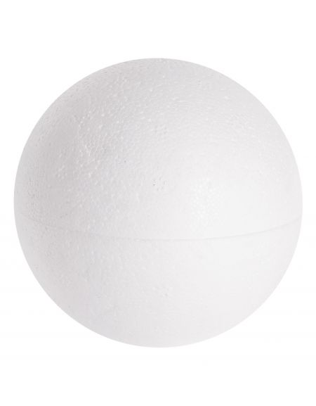 Kula bombka styropianowa 12 cm